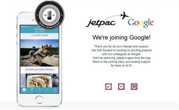 Google Steps Up AI and Buys Network City Guide Creator Jetpac