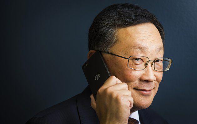 Blackberry's new CEO John Chen's influence Wall Street earnings