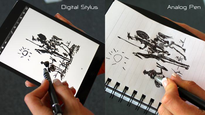 Experience Digital and Analogue writing together with Klick Stylus Pen
