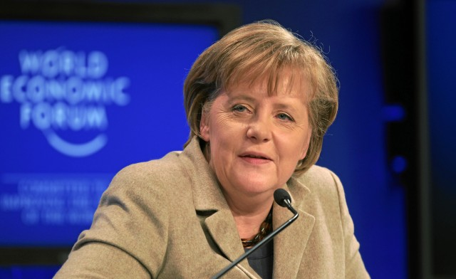 German Chancellor Merkel Hints at Stimulus