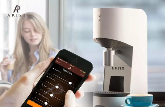 ARIST Coffee machine: brew your best coffee anytime