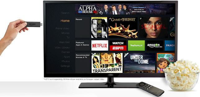 Get Speed with the new Amazon Fire TV Stick