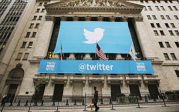 Twitter Shares Down on Disappointing Results