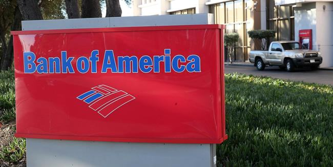 Bank of America down Slightly on Quarterly Loss