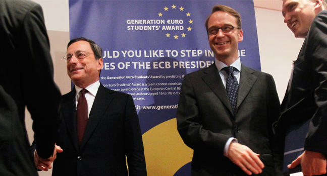 Draghi Announces Purchases of Asset-backed Securities to Expand ECB Balance Sheet