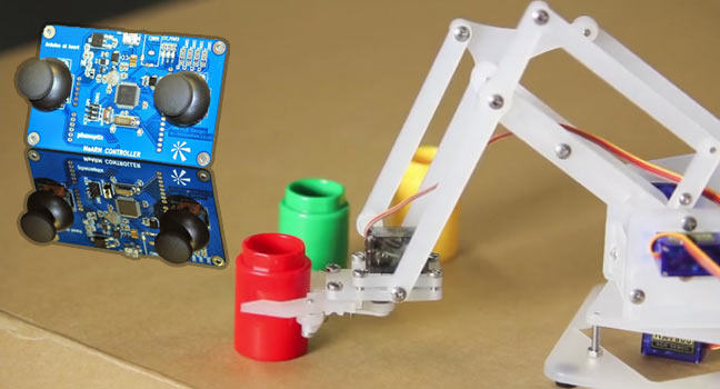 MeArm: An easy robotic arm in your pocket