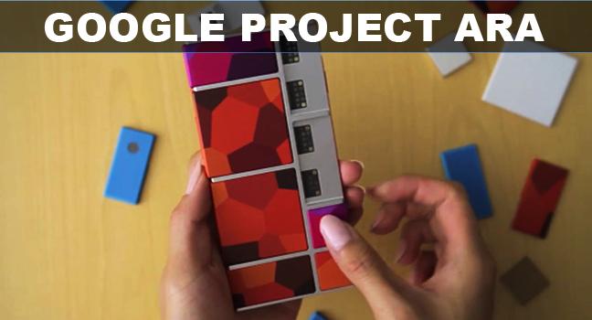 Project Ara: Google's modular smartphone