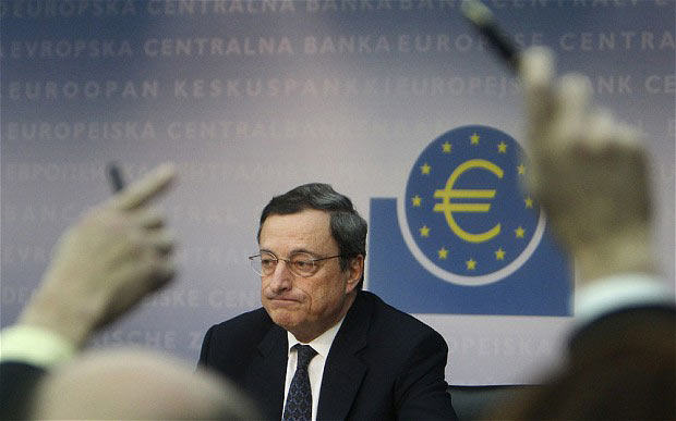 Focus on ECB Chief's Comments; Interest Rates