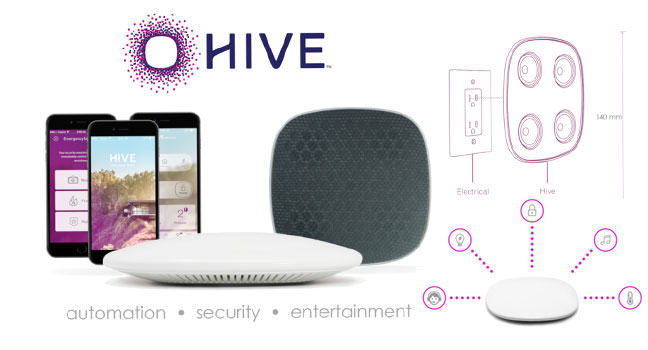 Hive: Smart home security and entertainment