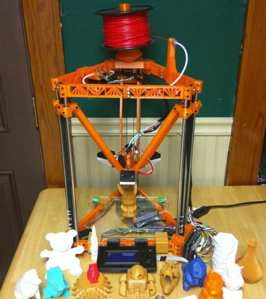 The Thingystock: Expandable 3D printer