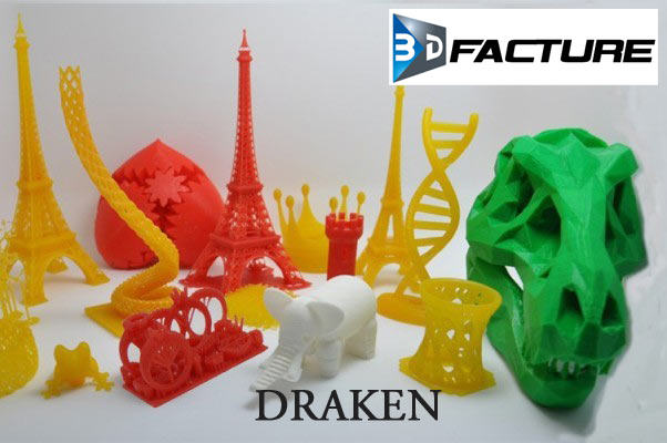The Draken: high quality, affordable noiseless SLA 3D printer