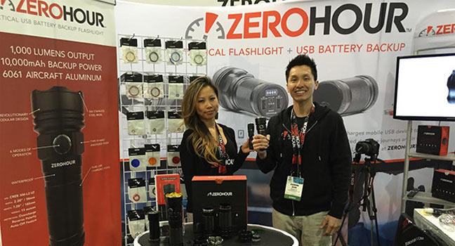 The ZeroHour Relic XR: powerful flashlight with power backup