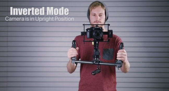 The AllSteady-6Pro: Ultimate DSLR filming stabilizer