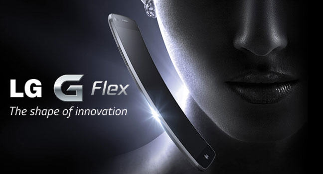 The LG G Flex: first ever curved smartphone