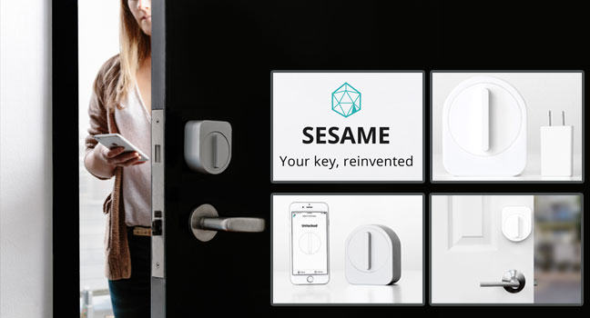 The Sesame: replace your keys with smartphone
