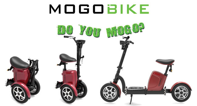 The Mogo Bike: a folding electric scooter