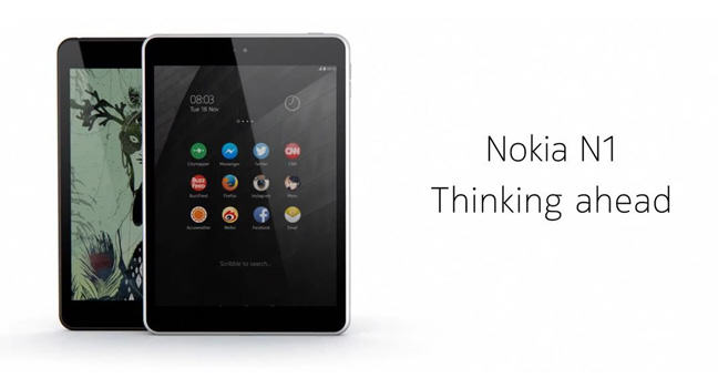 The Nokia N1: the smart future is here