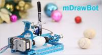 The mDrawBot: unique 4 in 1 drawing robot